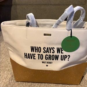 NWT Kate Spade Disney Glitter Bag